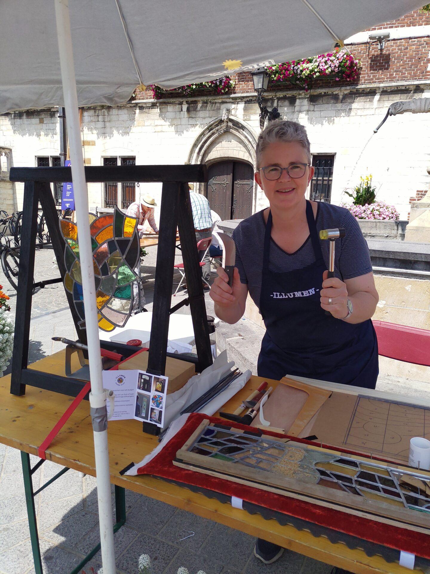 Isabelle Decallonne popup atelier glasramen