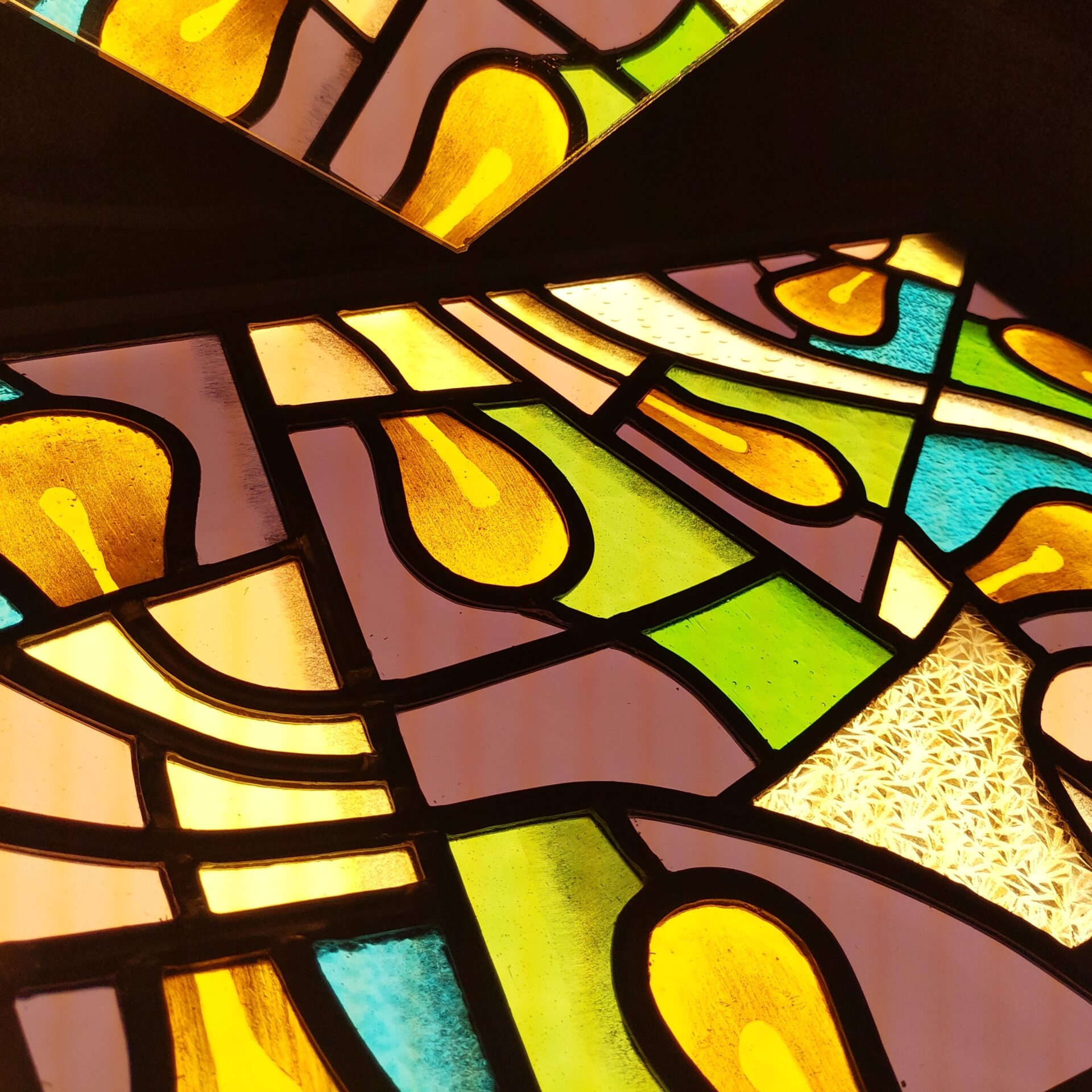 Glas-in-lood vitrail stained glass