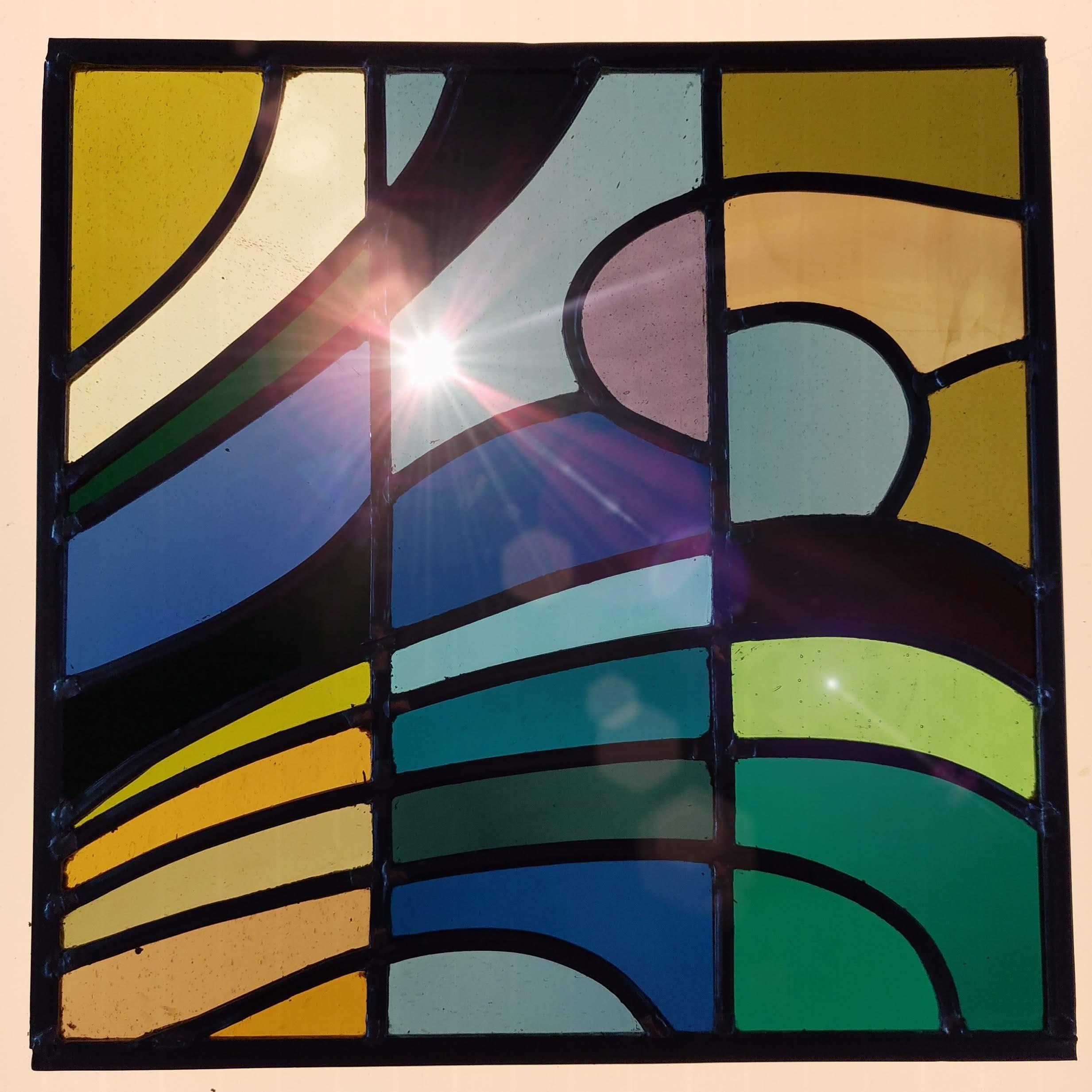 glasraam glas-in-lood Isabelle Decallonne glasraamkunst