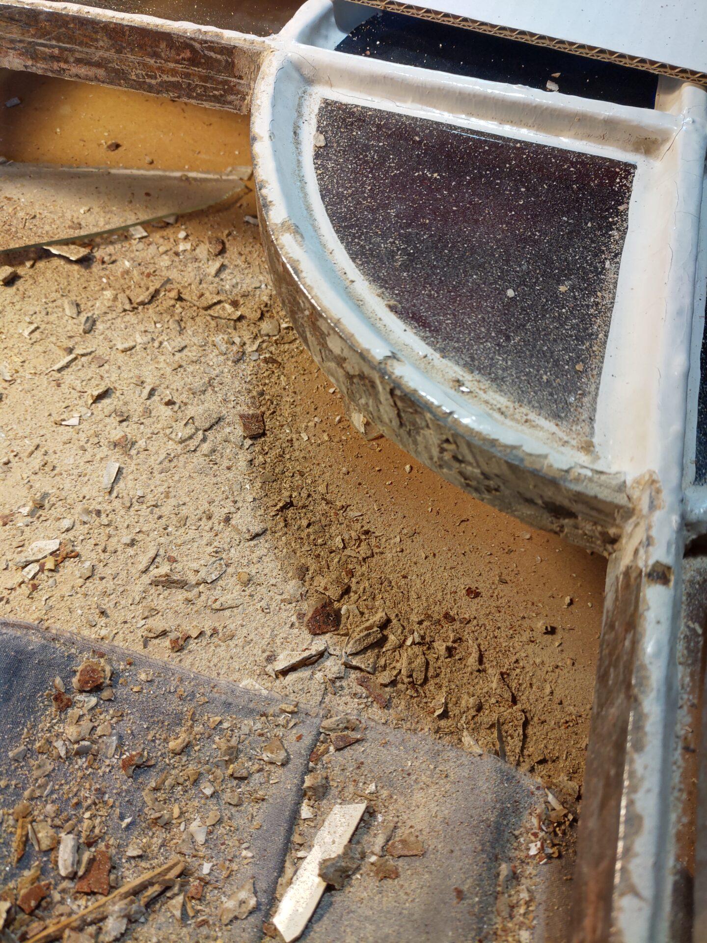 Atelier Illumen Herstelling van beschadigde glasramen